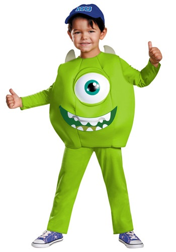 Click Here to buy Mike Toddler Deluxe Costume from HalloweenCostumes, CDN Funds & Shipping