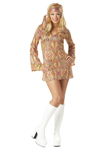 Click Here to buy Sexy Disco Costume from HalloweenCostumes, CDN Funds & Shipping