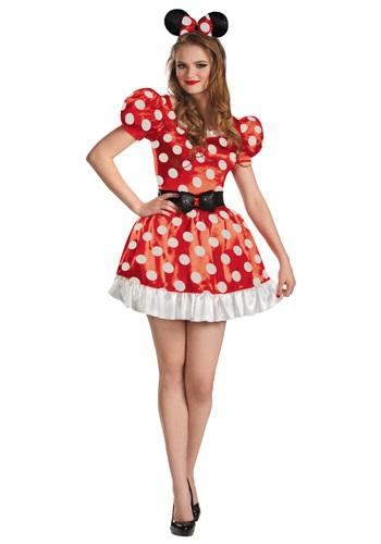 Plus Size Red Minnie Classic Costume