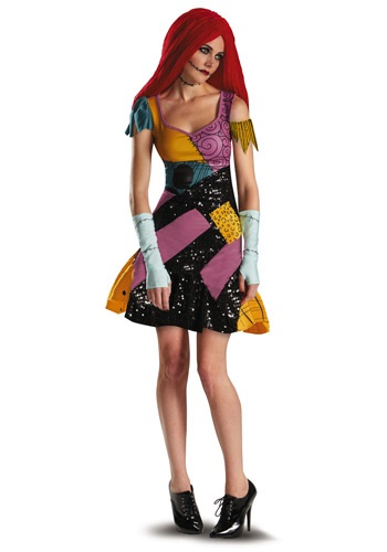 Click Here to buy Sally Glam Costume from HalloweenCostumes, CDN Funds & Shipping