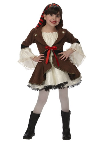 Child Pirate Princess Costume