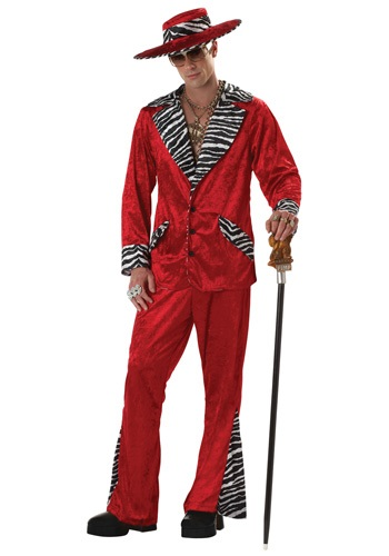 Click Here to buy Red Pimp Costume from HalloweenCostumes, CDN Funds & Shipping
