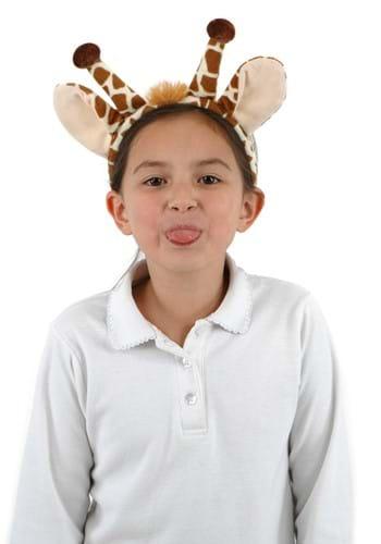 Click Here to buy Fleece Giraffe Tail & Ears Set from HalloweenCostumes, CDN Funds & Shipping