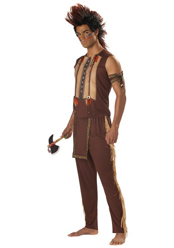 Mens Noble Native American Warrior Costume
