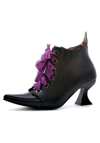 Click Here to buy Womens Lace Up Witch Shoes from HalloweenCostumes, CDN Funds & Shipping