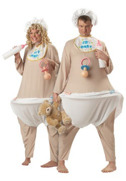 Adult Baby Costume