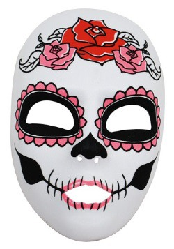 Womens Day of the Dead Full Face Mask