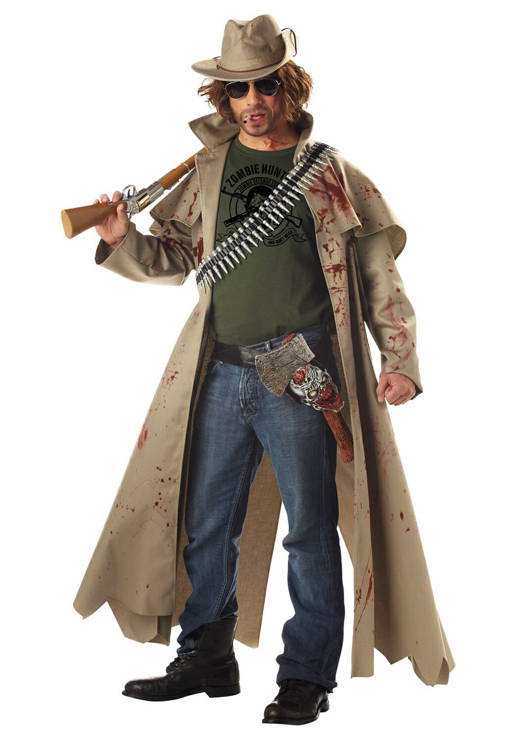 INOpets.com Anything for Pets Parents & Their Pets Zombie Hunter Costume