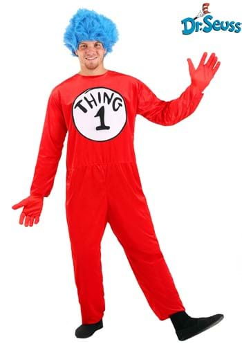 Thing 1 & Thing 2 Adult Size Costume