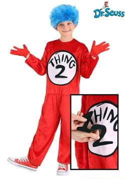 Thing 1 & Thing 2 Kids Costume