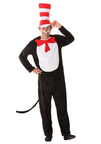 Click Here to buy Cat in the Hat Adult Costume from HalloweenCostumes, CDN Funds & Shipping