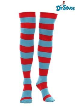 Thing 1 & Thing 2 Striped Knee Highs