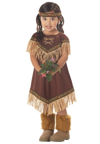 Toddler Lil Native American Princess Costume