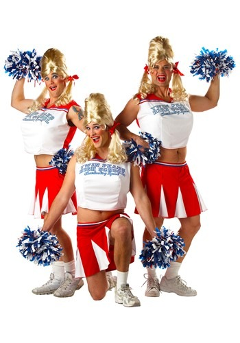 Click Here to buy Mens Cheerleader Costume from HalloweenCostumes, CDN Funds & Shipping