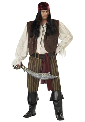 Click Here to buy Plus Size Rogue Pirate Costume from HalloweenCostumes, CDN Funds & Shipping