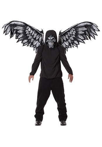 Click Here to buy Fallen Angel Mask and Wings from HalloweenCostumes, CDN Funds & Shipping