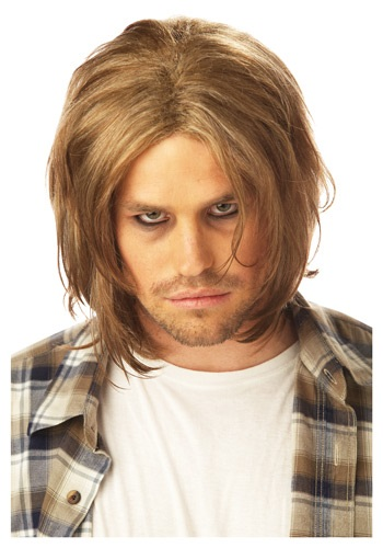 Click Here to buy Grunge Mens Blonde Wig from HalloweenCostumes, CDN Funds & Shipping