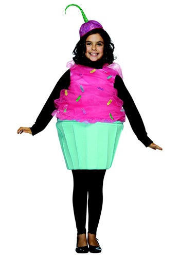 Click Here to buy Kids Sweet Eats Cupcake Costume from HalloweenCostumes, CDN Funds & Shipping
