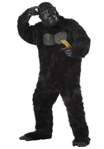 Click Here to buy Adult Gorilla Costume from HalloweenCostumes, CDN Funds & Shipping