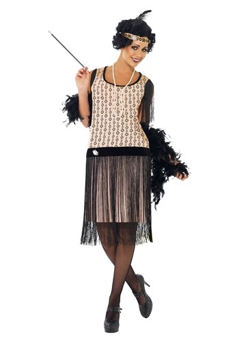 Click Here to buy Womens 1920s Coco Flapper Costume from HalloweenCostumes, CDN Funds & Shipping