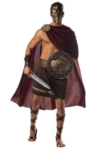Spartan Warrior Costume W/ Helmet | Warrior Costume