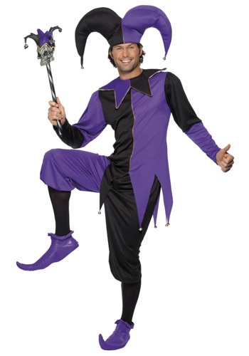 Click Here to buy Medieval Jester Costume from HalloweenCostumes, CDN Funds & Shipping