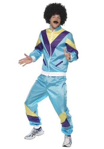 Mens 80s Costume: Height of Fashion Suit