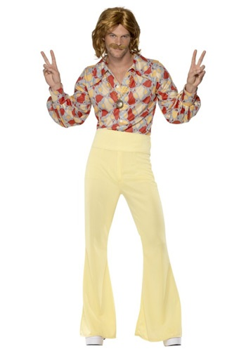 Click Here to buy Mens 1960s Groovy Guy Costume from HalloweenCostumes, CDN Funds & Shipping