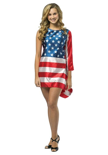 Flag Dress Costume for Teens