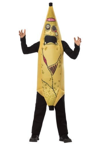 Click Here to buy Kids Zombie Banana Costume from HalloweenCostumes, CDN Funds & Shipping
