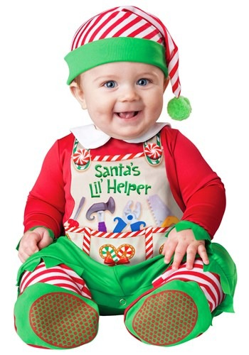 Click Here to buy Santas Lil Helper Costume from HalloweenCostumes, CDN Funds & Shipping