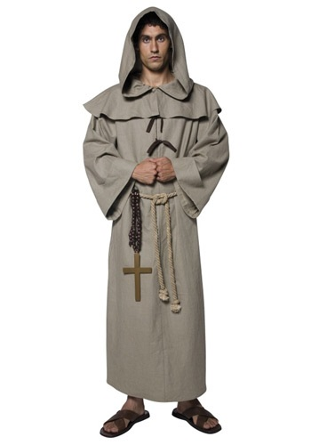 Mens Friar Tuck Costume