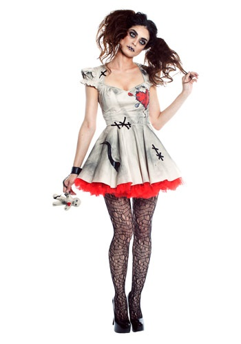 Click Here to buy Womens Voodoo Doll Costume from HalloweenCostumes, CDN Funds & Shipping