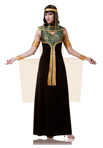 Click Here to buy Adult Black and Teal Cleopatra Costume from HalloweenCostumes, CDN Funds & Shipping