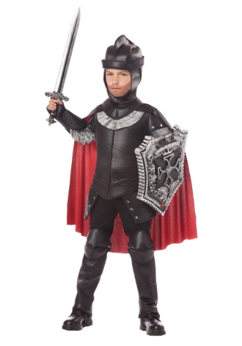 Click Here to buy Boys The Black Knight Costume from HalloweenCostumes, CDN Funds & Shipping