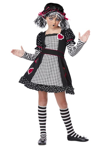 Click Here to buy Rag Doll Girls Costume from HalloweenCostumes, CDN Funds