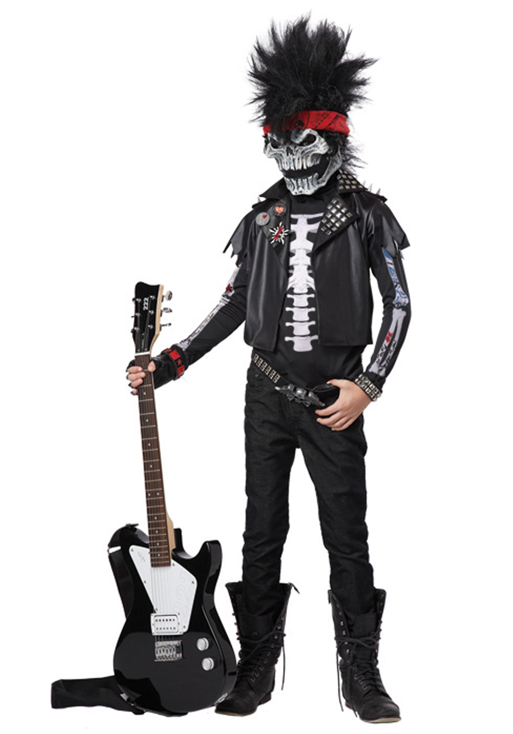 Brand New Dead Man Rockin/' Rocker Child Halloween Costume