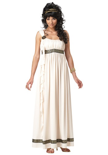 Click Here to buy Womens Olympic Goddess Costume from HalloweenCostumes, CDN Funds & Shipping