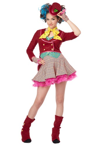 Click Here to buy Tween Mad as a Hatter Costume | Movie Character Costume from HalloweenCostumes, CDN Funds & Shipping