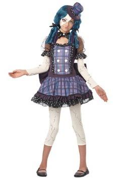 Tween Broken Doll Costume