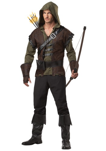 Click Here to buy Mens Realistic Robin Hood Costume from HalloweenCostumes, CDN Funds & Shipping