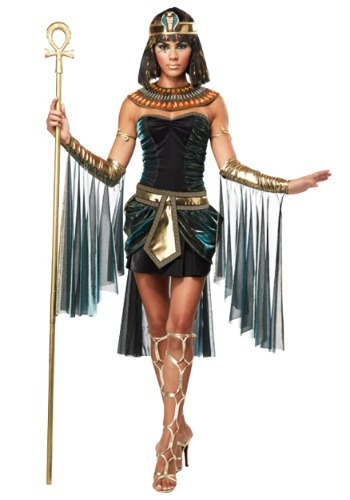 Click Here to buy Egyptian Goddess Costume | Egyptian pharaoh from HalloweenCostumes, CDN Funds & Shipping
