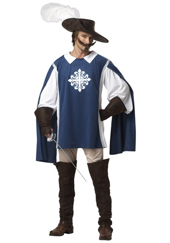 Click Here to buy Brave Musketeer Costume from HalloweenCostumes, CDN Funds & Shipping