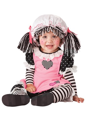 Click Here to buy Baby Rag Doll Costume from HalloweenCostumes, CDN Funds & Shipping