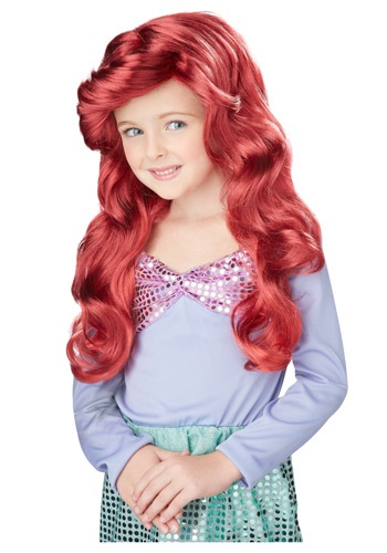 Little Mermaid Wig