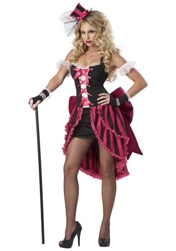 Sexy Parisian Showgirl Costume