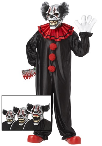 Click Here to buy Last Laugh Clown Costume from HalloweenCostumes, CDN Funds & Shipping