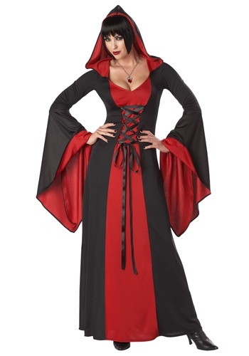 Womens Deluxe Hooded Robe
