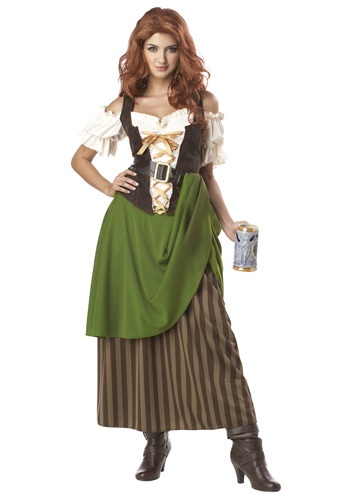 Click Here to buy Tavern Maiden Costume from HalloweenCostumes, CDN Funds & Shipping