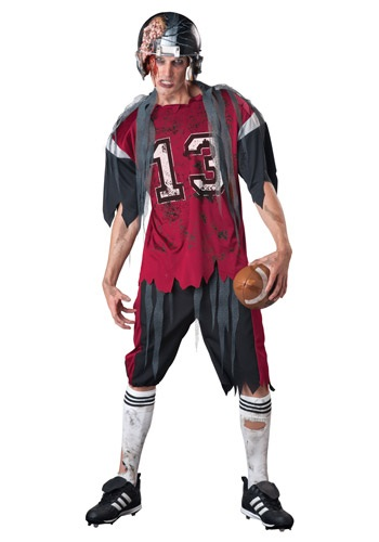 Click Here to buy Adult Dead Zone Zombie Costume from HalloweenCostumes, CDN Funds & Shipping